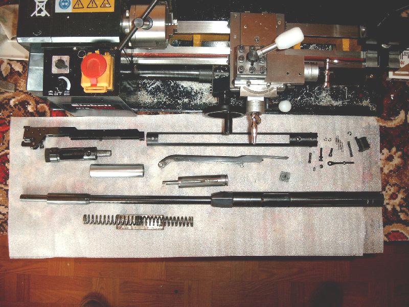 Feinwerkbau FWB 300S – Tuning i demontaż wiatrówki